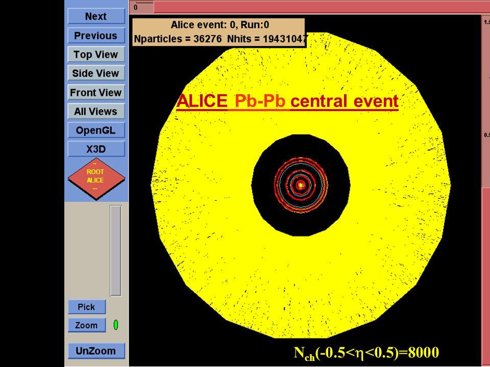 ALICE Pb-Pb central event