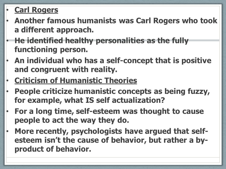 "personality theory albert bandura carl rogers essay Rogers's school, along with that of abraham maslow, rollo may, and others,  became part of the  ""a theory of therapy, personality, and interpersonal   unpublished 1998 essay that is a very informative analysis of eliza with actual."