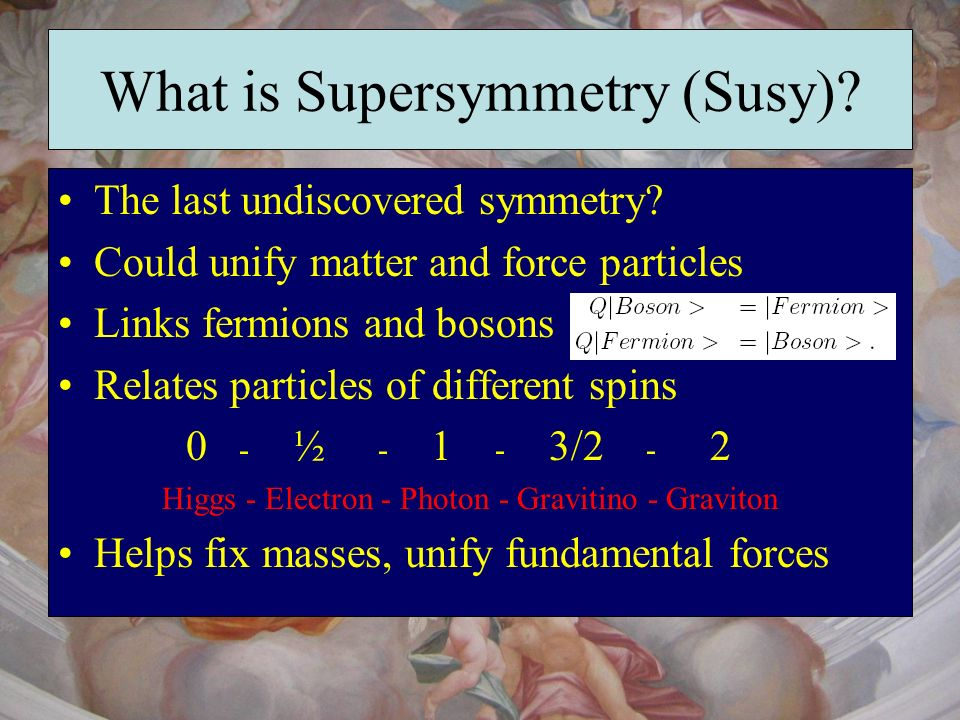 What is Supersymmetry (Susy)