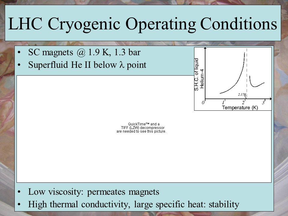 LHC Cryogenic Operating Conditions