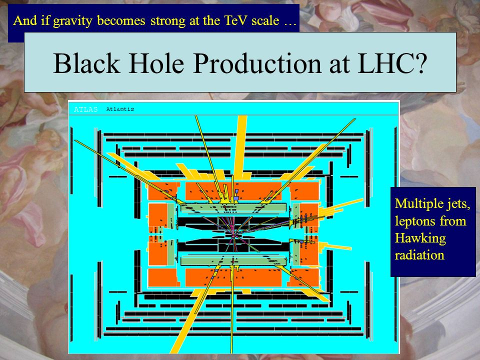 Black Hole Production at LHC