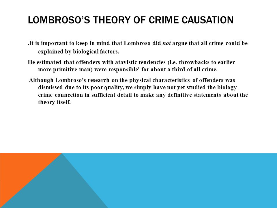 cressey s theory of crime causation