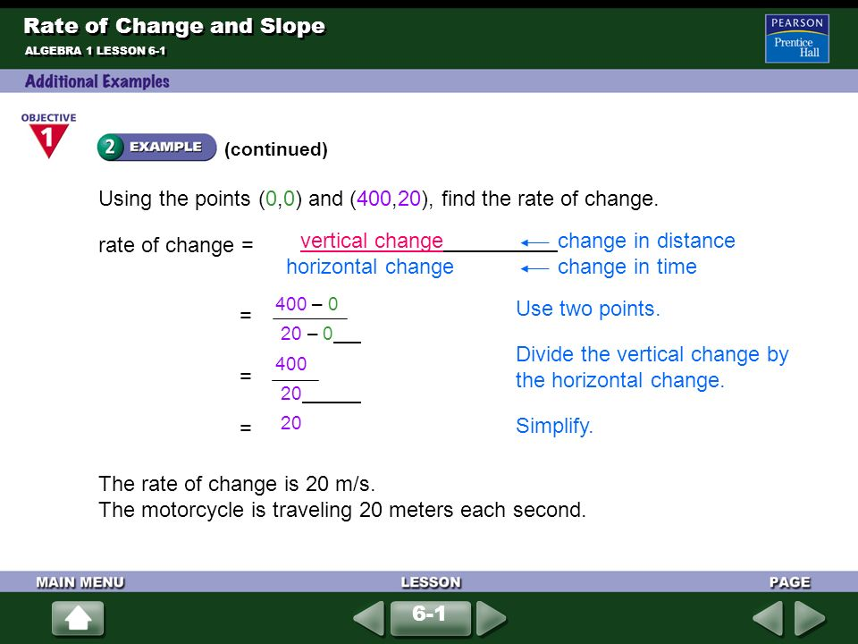 how to find the rate of change of an angle
