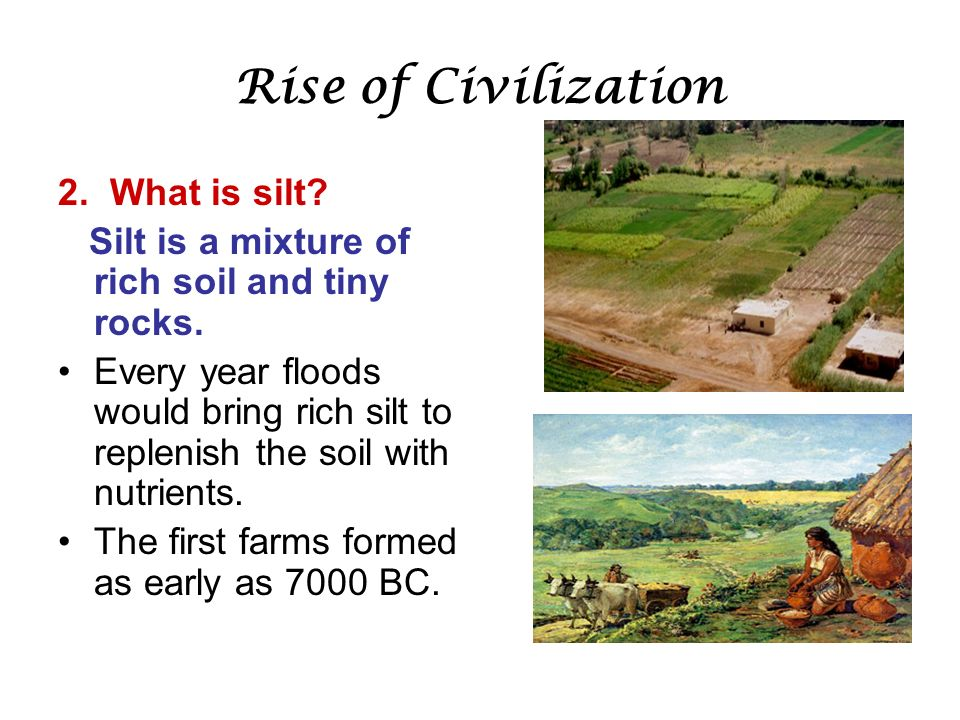 Chapter 3 section 1 geography of the fertile crescent for What is rich soil called