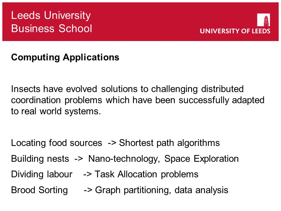 Computing Applications