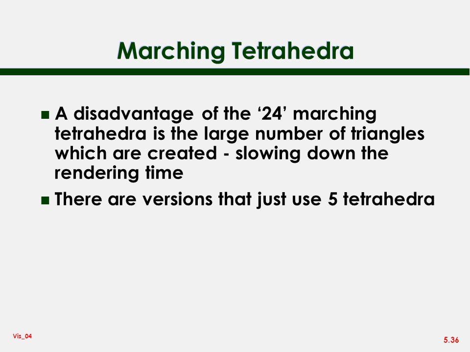 Marching Tetrahedra