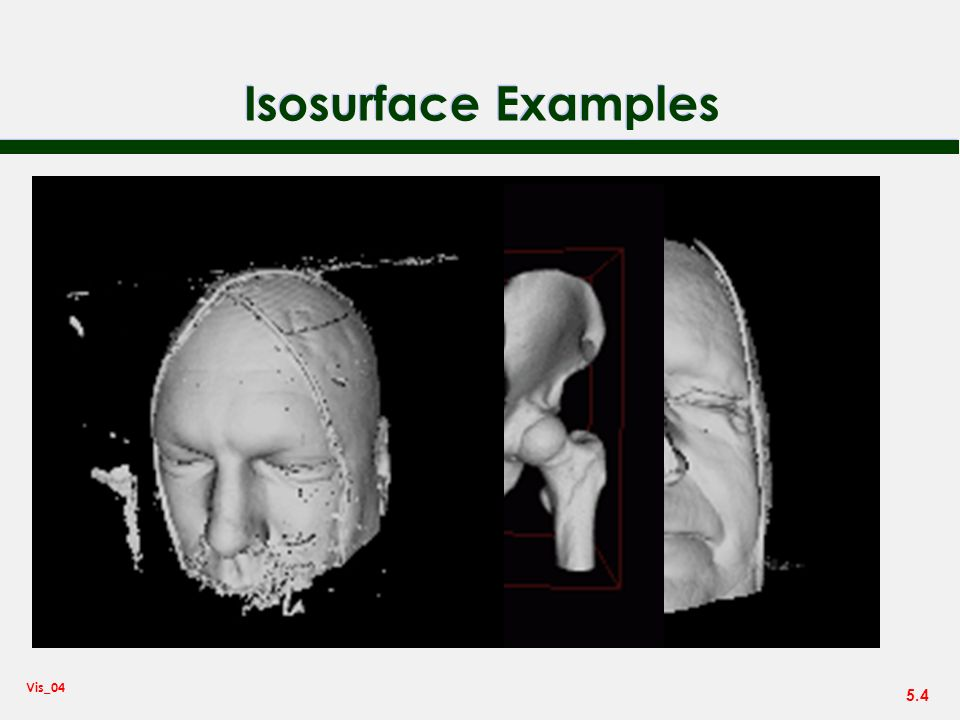 Isosurface Examples