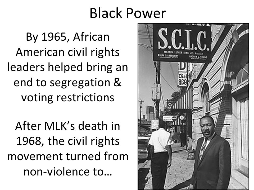 african american segregation and civil rights