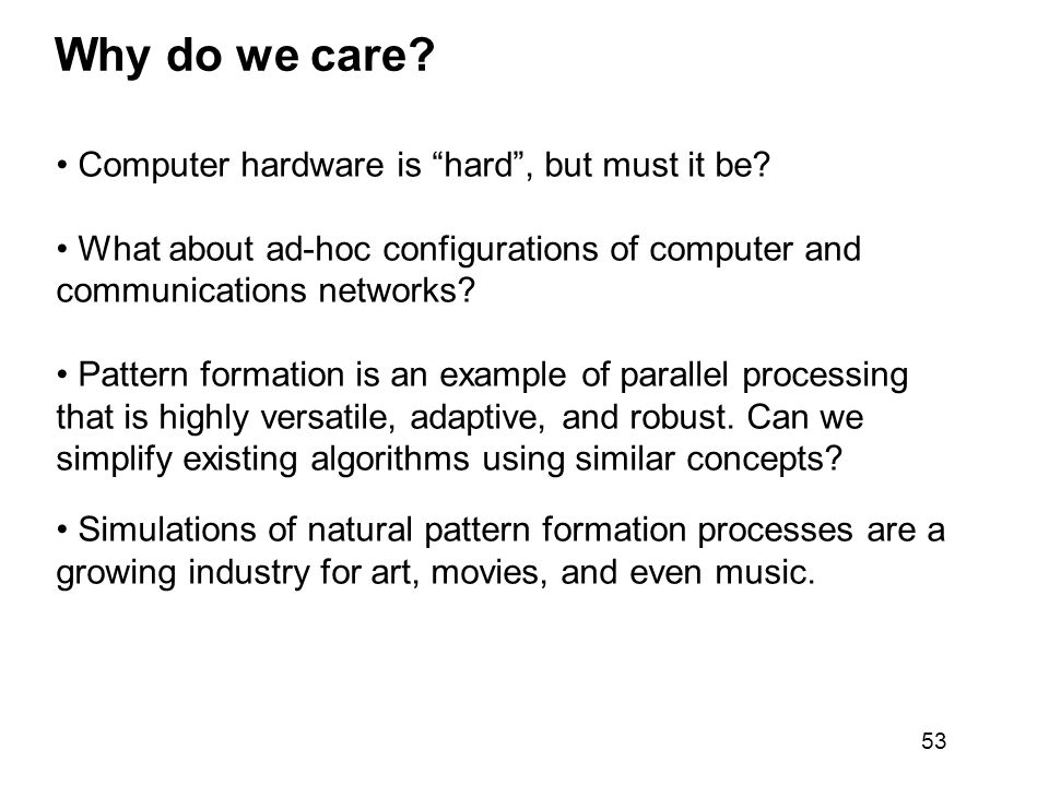 Why do we care Computer hardware is hard , but must it be