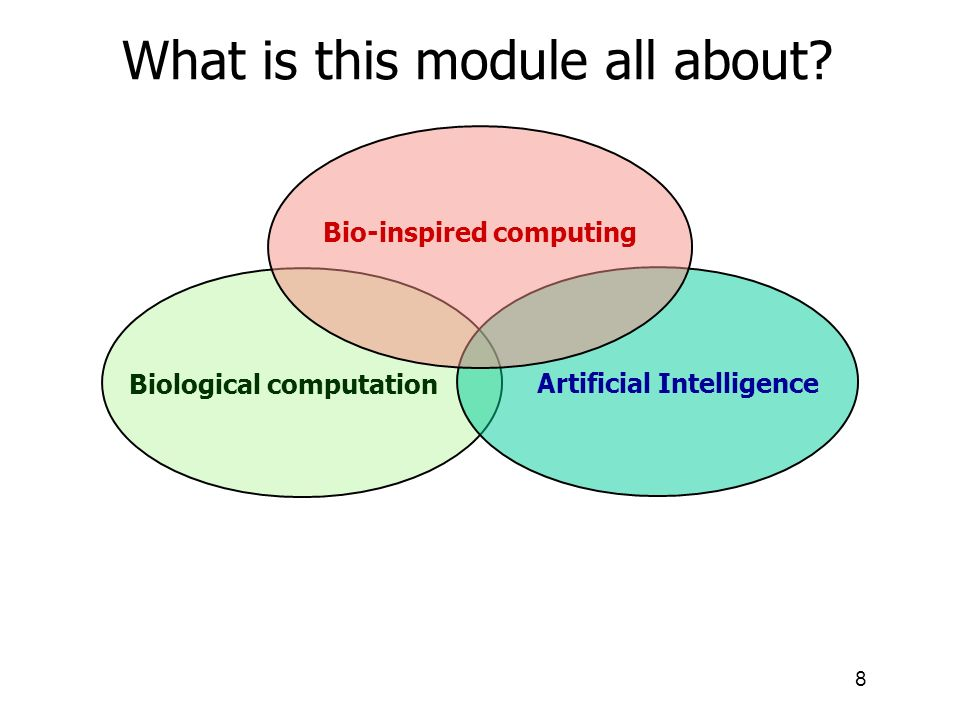 Bio-inspired computing Biological computation Artificial Intelligence