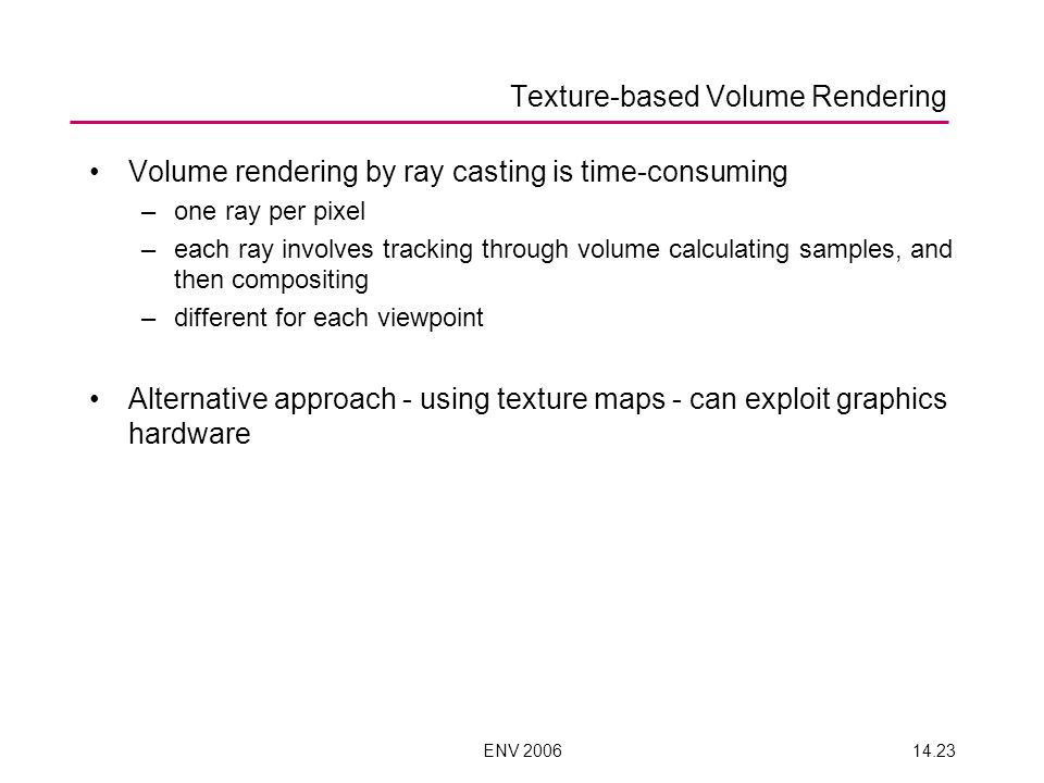 Texture-based Volume Rendering