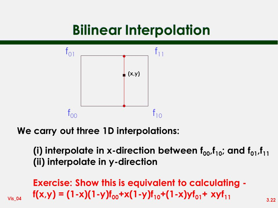 Bilinear Interpolation