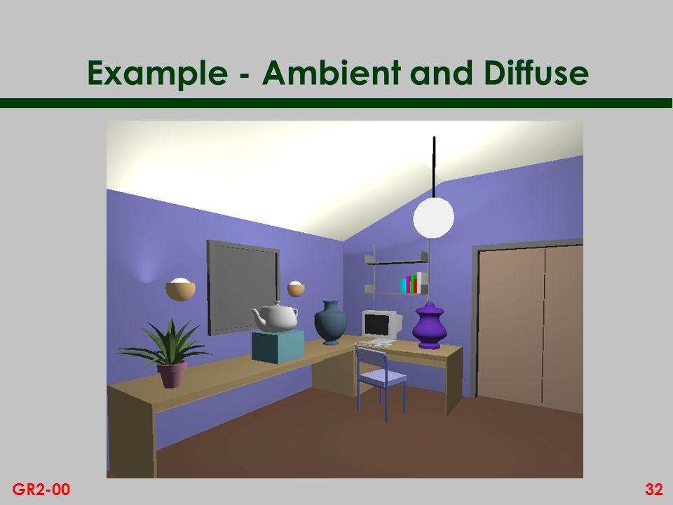 Example - Ambient and Diffuse
