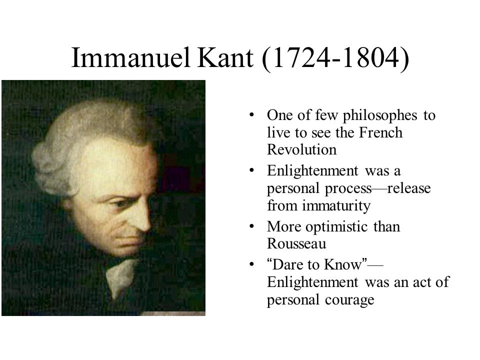 What Is Enlightenment According to Kant?