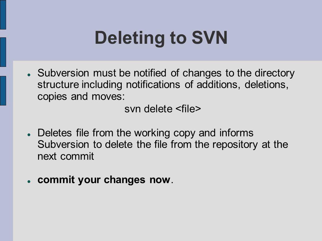 svn delete <file>
