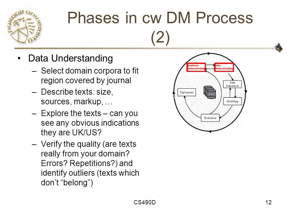 Phases in cw DM Process (2)