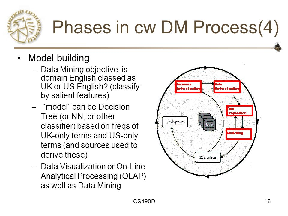 Phases in cw DM Process(4)
