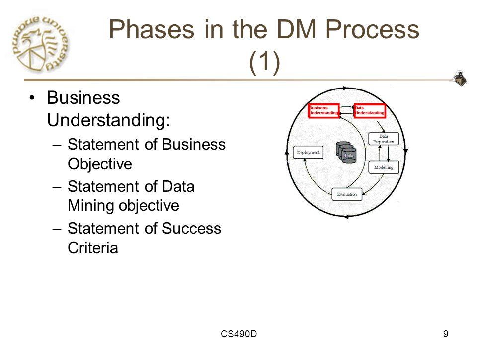 Phases in the DM Process (1)