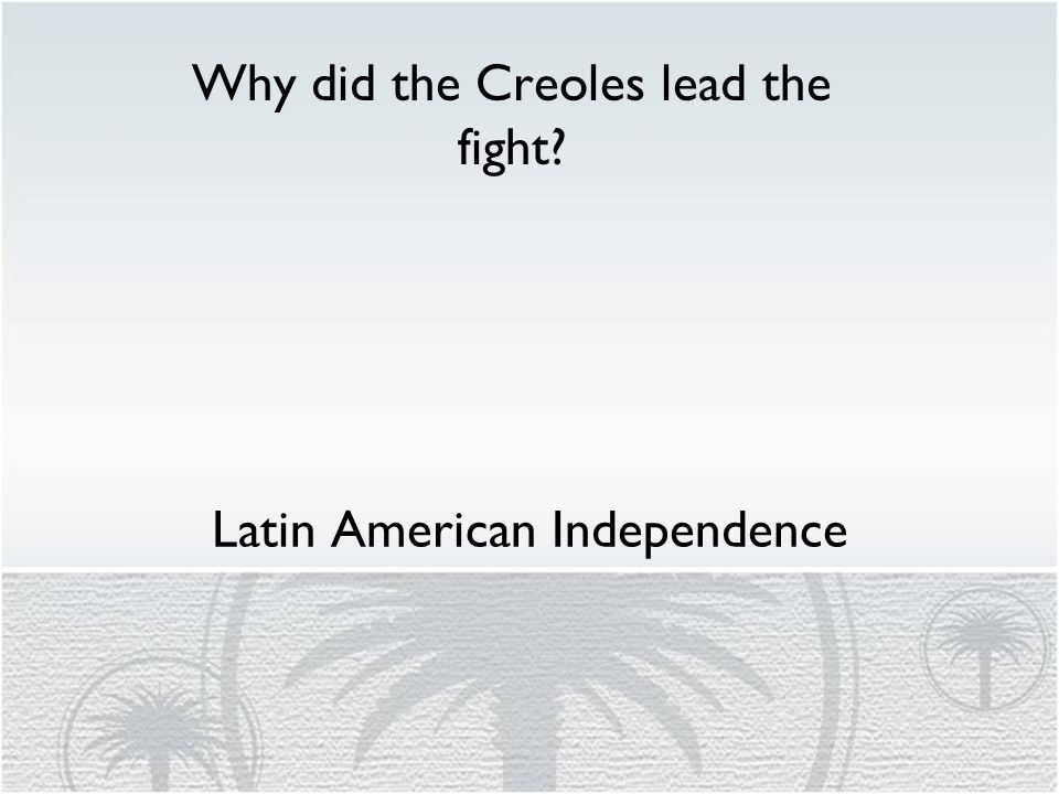 latin american independence essay The main causes of latin american independence on studybaycom - other, essay - writersamantha, id - 100000476.