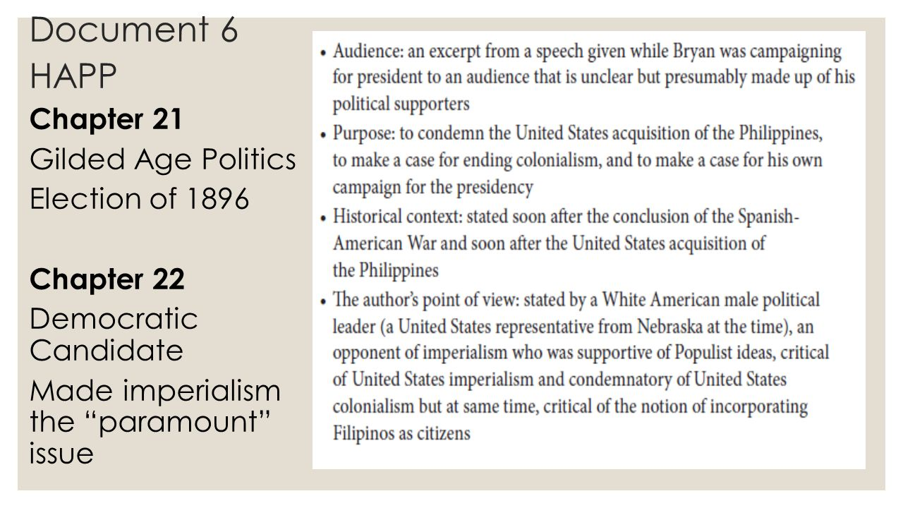election of 1896 essay Election of 1896: it came down to a question of money download mp3 (right-click or option-click the link) the making of a nation – a program in special english by the voice of america.