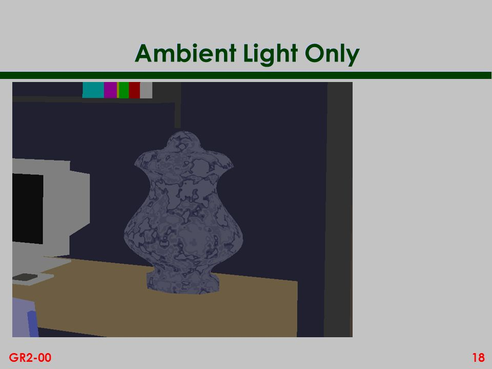 Ambient Light Only