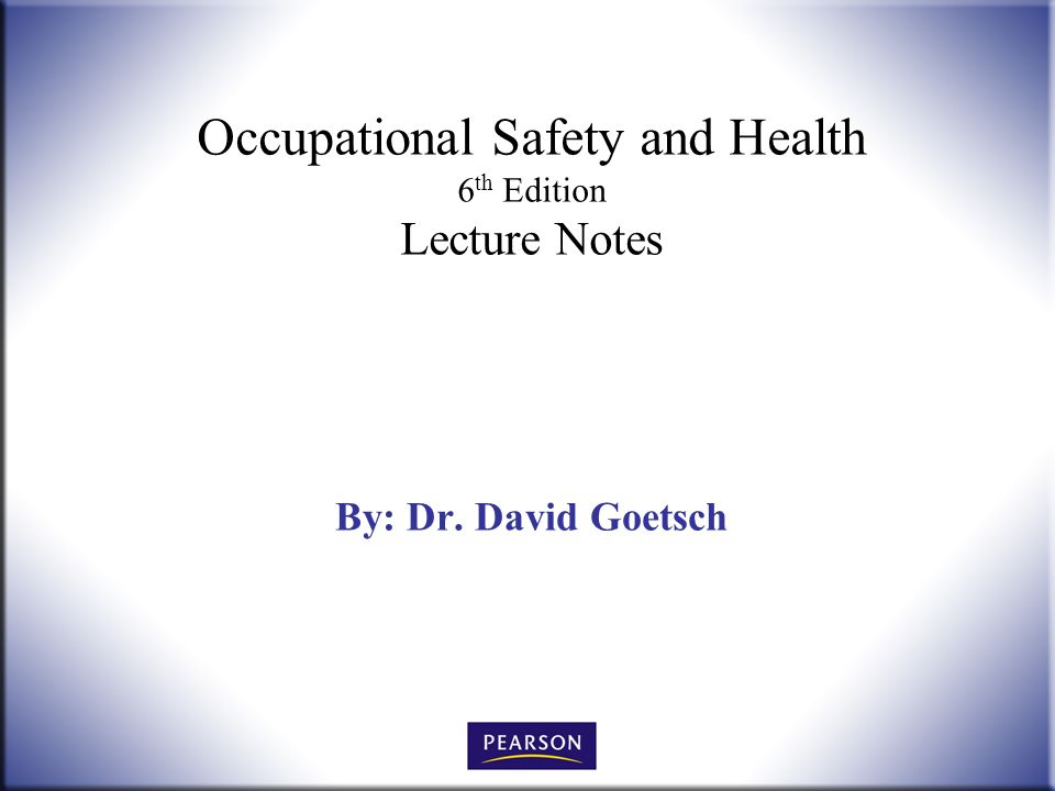 occupational health and safety notes The following health and safety notes are provided in the portable document format (pdf), which allows the transmission of documents that contain pictures and graphics that are almost identical to the original.