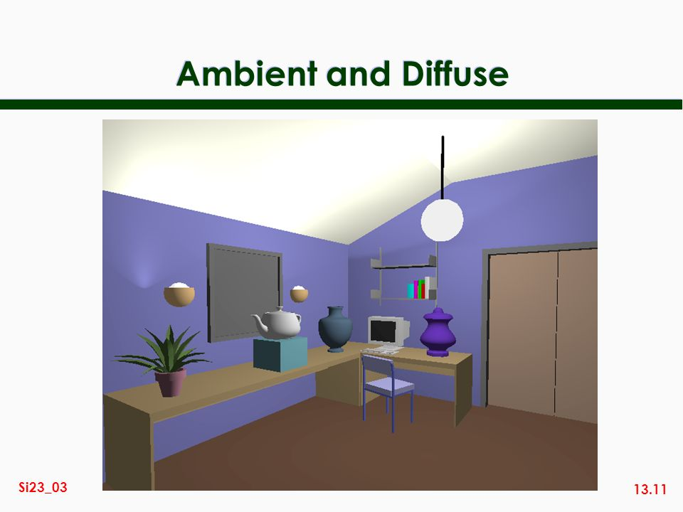 Ambient and Diffuse