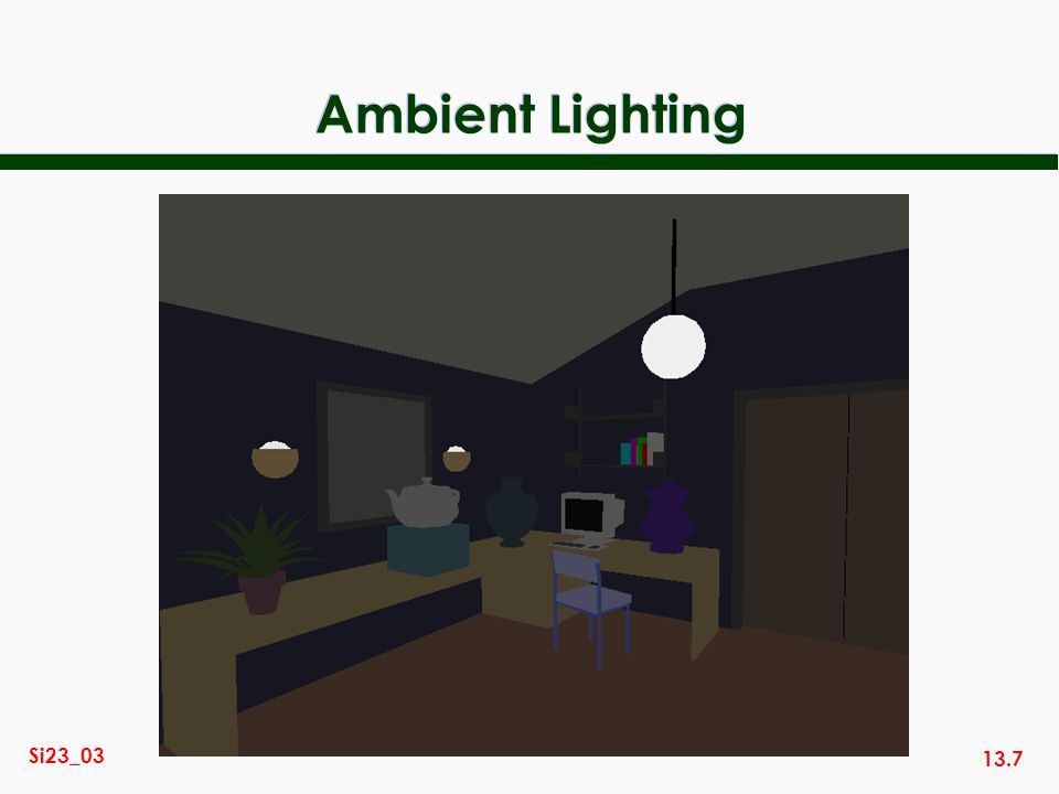 Ambient Lighting
