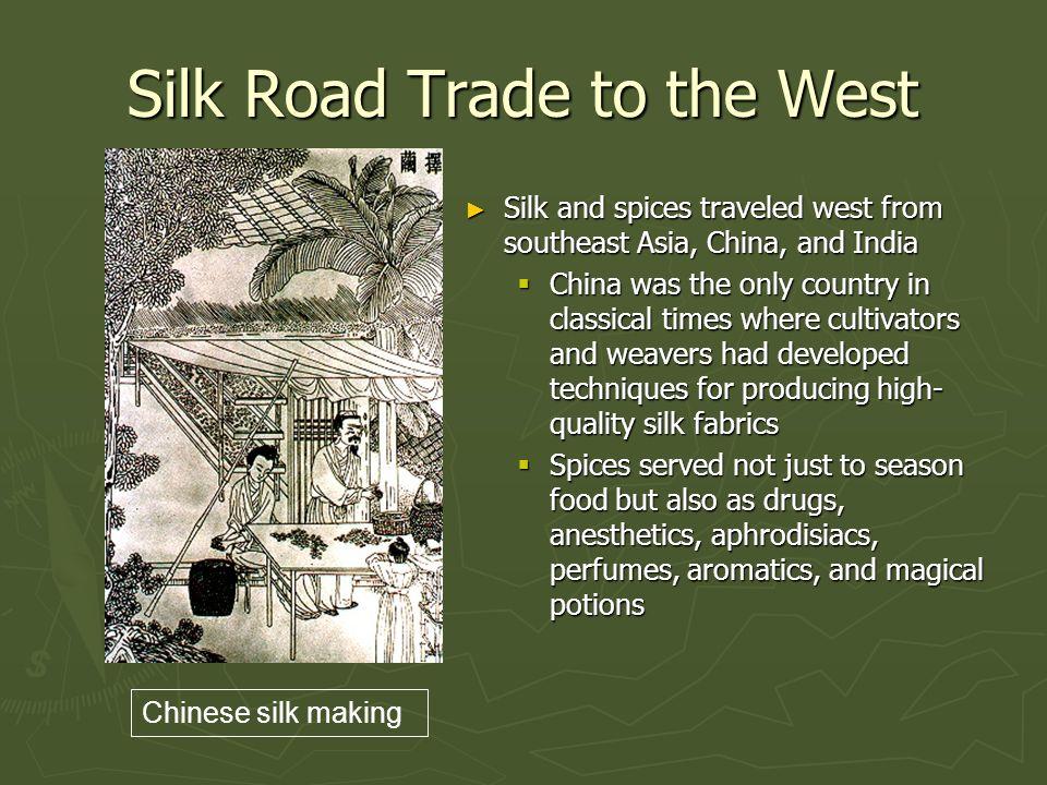 Trade Routes Silk Road Indian Ocean Trans Saharan Ppt