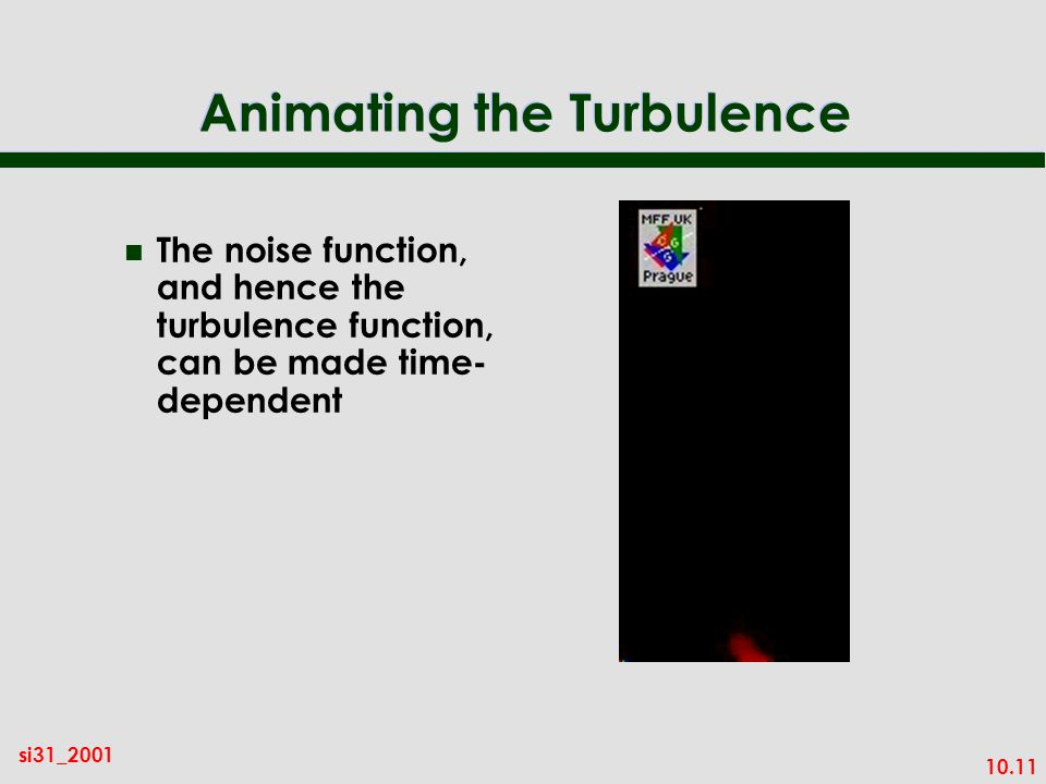 Animating the Turbulence