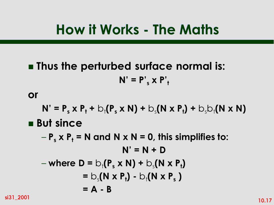 N' = Ps x Pt + bt(Ps x N) + bs(N x Pt) + bsbt(N x N)