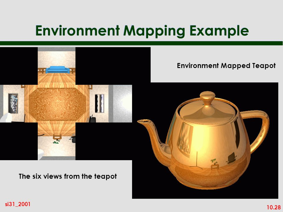 Environment Mapping Example