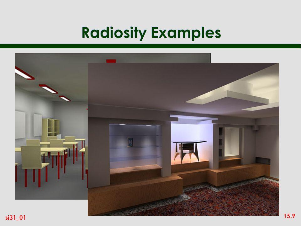 Radiosity Examples