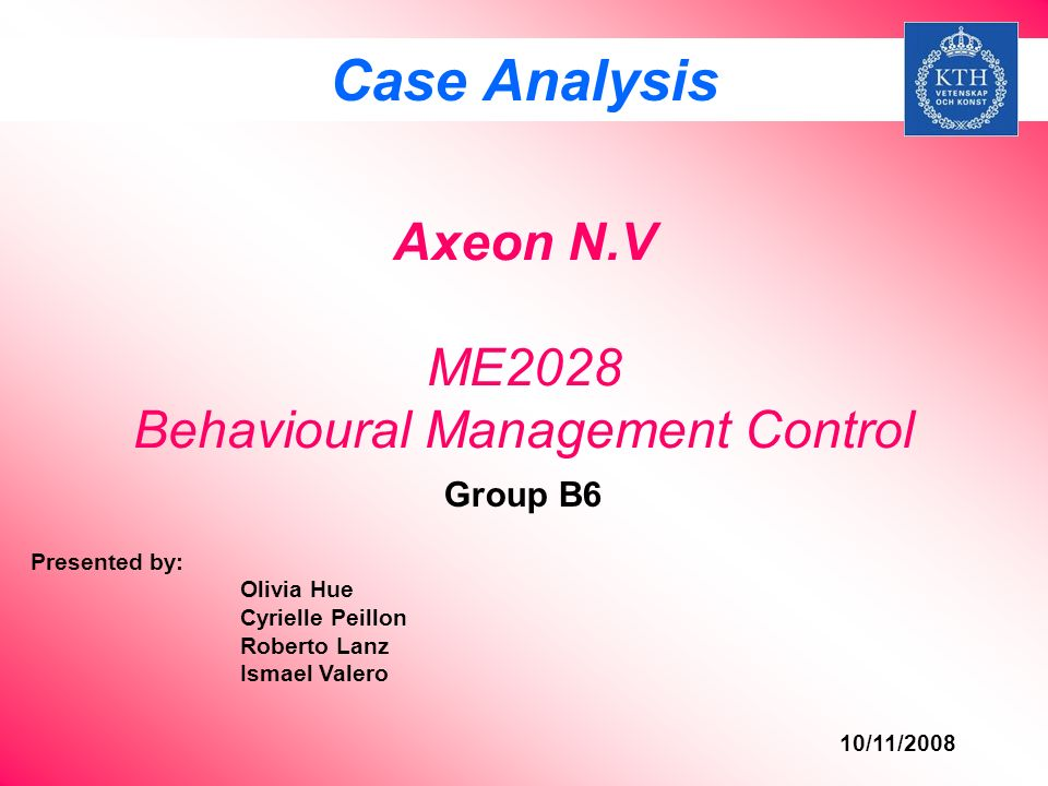 axeon nv essay We will write a cheap essay sample on unilever specifically for you for only $1290/page (unilever nv and unilever plc ) axeon nv case study.