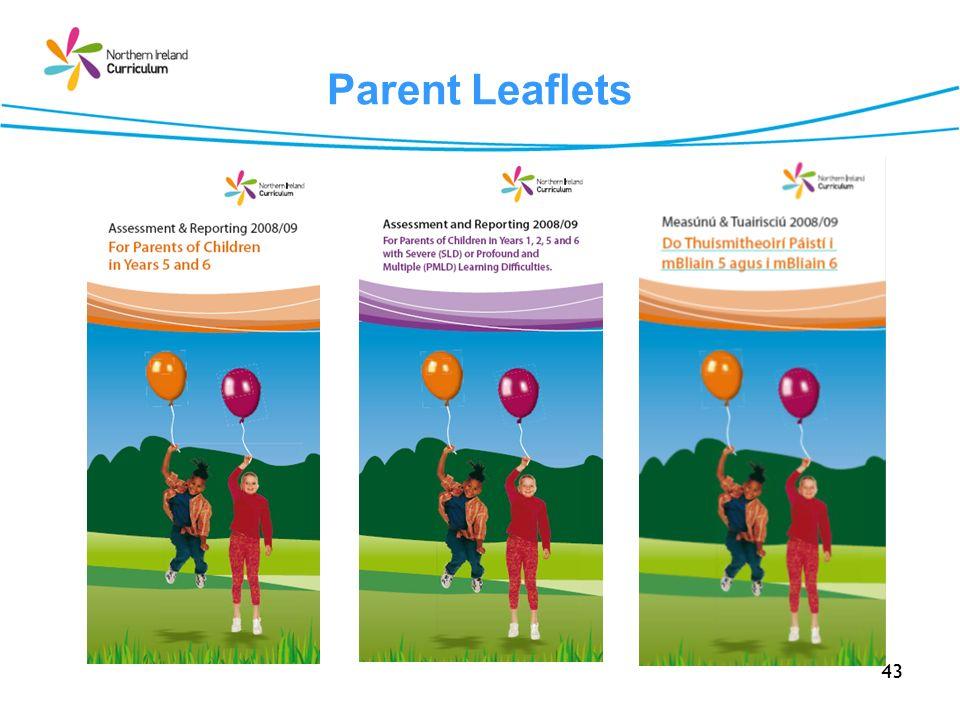 Parent Leaflets
