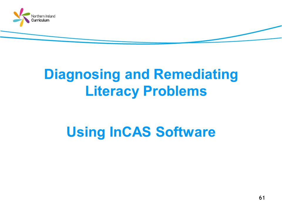 Diagnosing and Remediating Literacy Problems