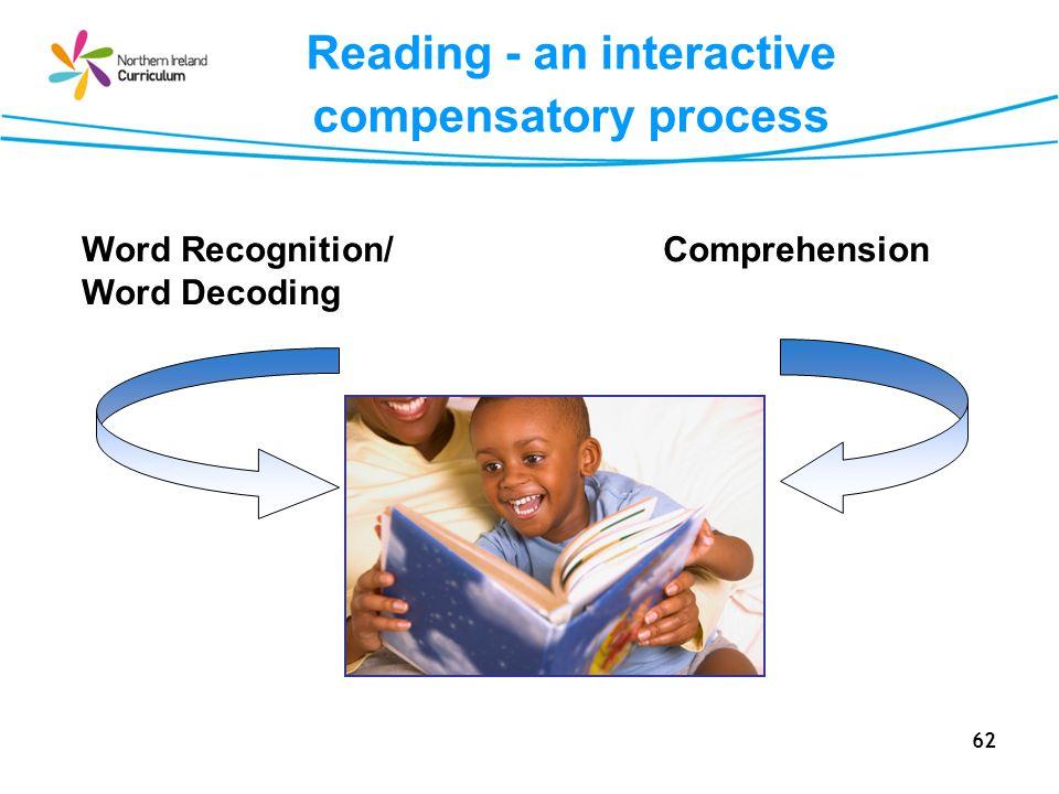Reading - an interactive compensatory process