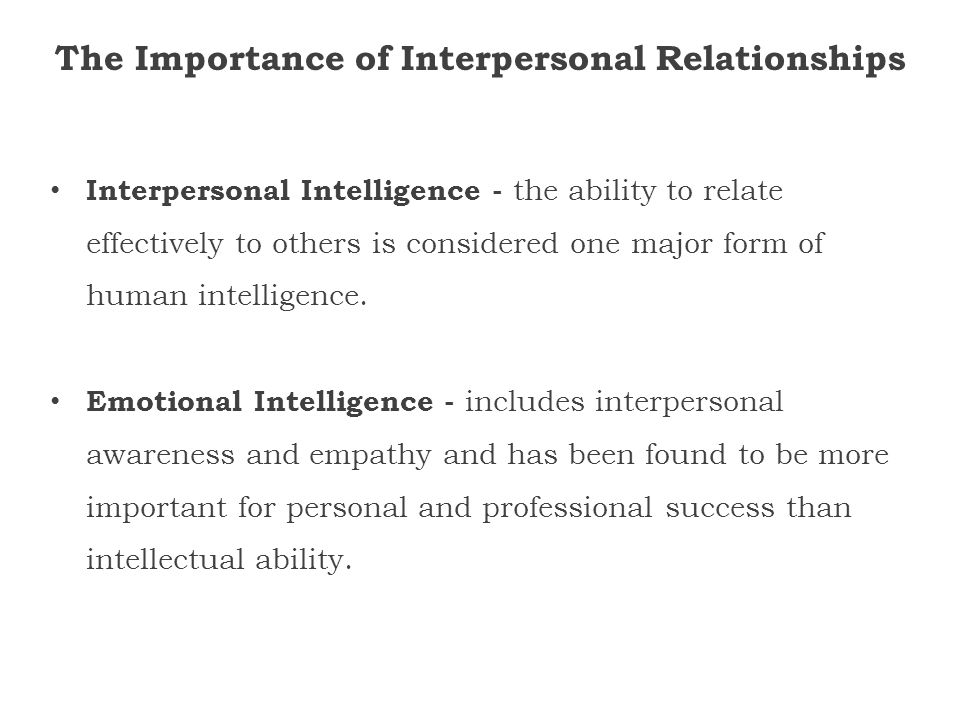 interpersonal intelligence skills Buy advanced emotional intelligence - interpersonal skills learn how to master ei in social intelligence, empathy, verbal and nonverbal mirroring, acting and.
