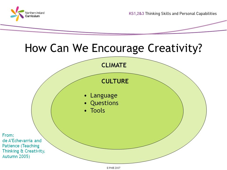 How Can We Encourage Creativity