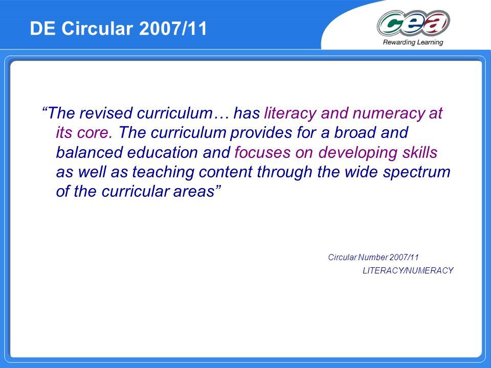DE Circular 2007/11