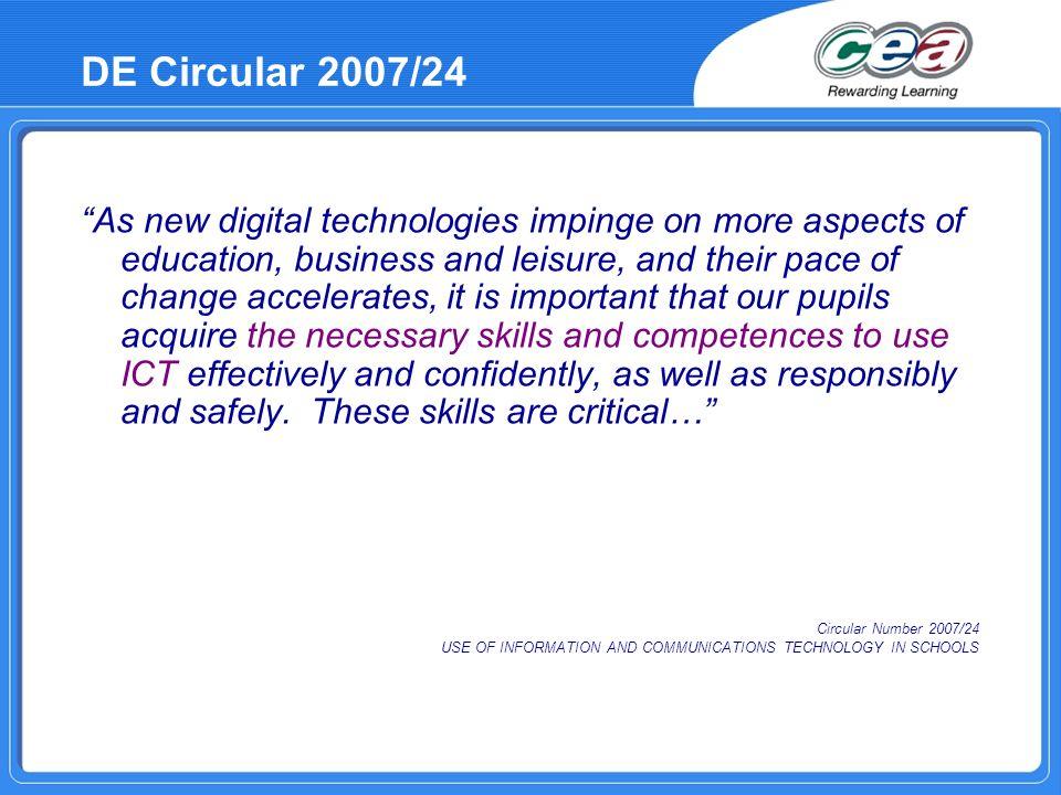 DE Circular 2007/24
