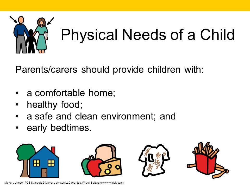 Physical Needs of a Child