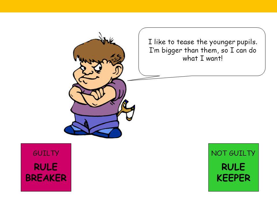 RULE BREAKER RULE KEEPER