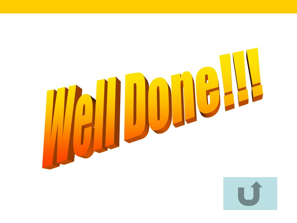 Well Done!!!