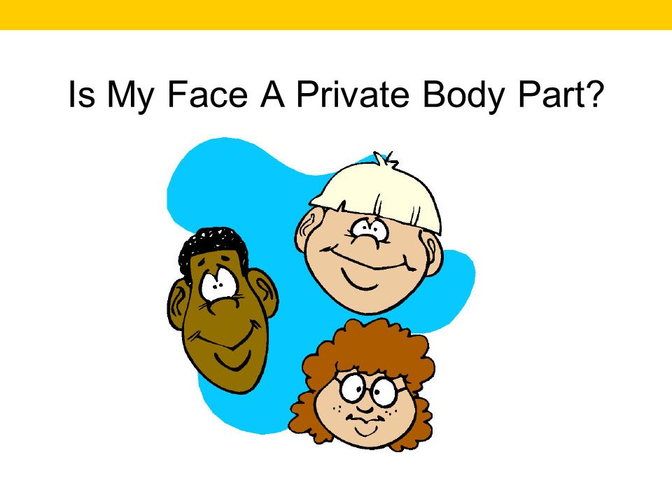 Is My Face A Private Body Part