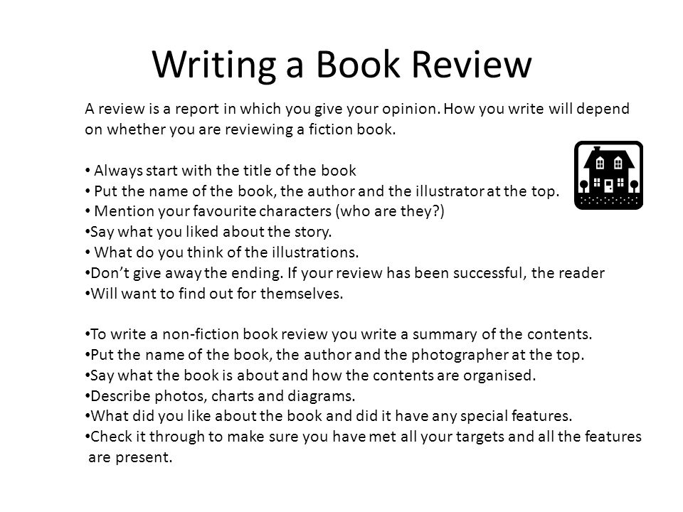 how do you start writing a book report If you are looking to write a book review instead of a book report do you typically read these kinds of books do you like them title.
