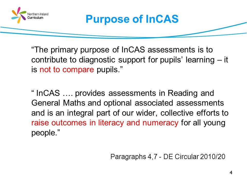 Purpose of InCAS