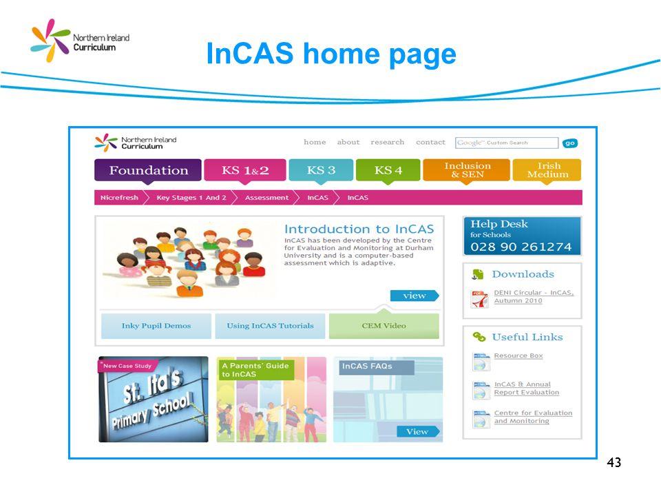 InCAS home page