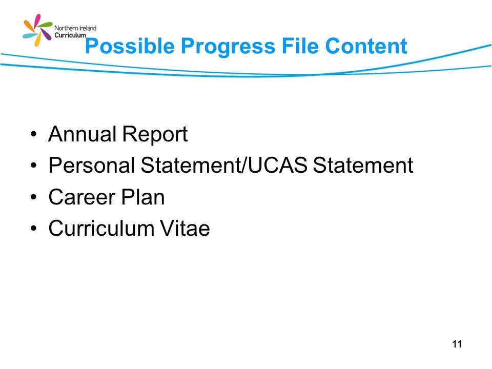 Possible Progress File Content