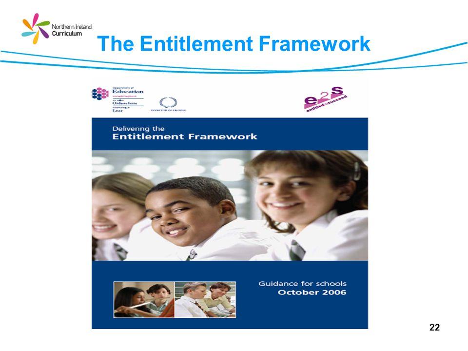 The Entitlement Framework